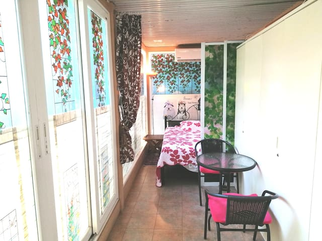Cozy Backyard room near city