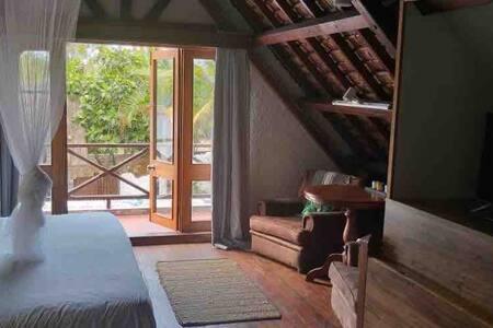 Unique Traditional Mauritian Loft Space