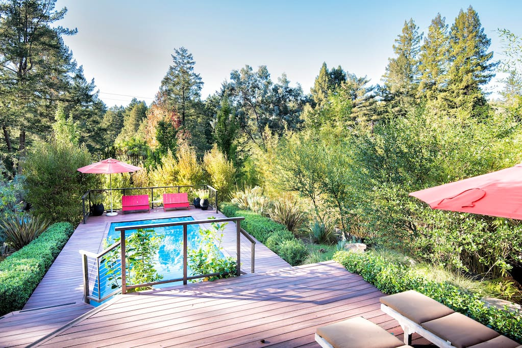Russian river summer retreat houses for rent in - Large summer houses energizing retreat ...