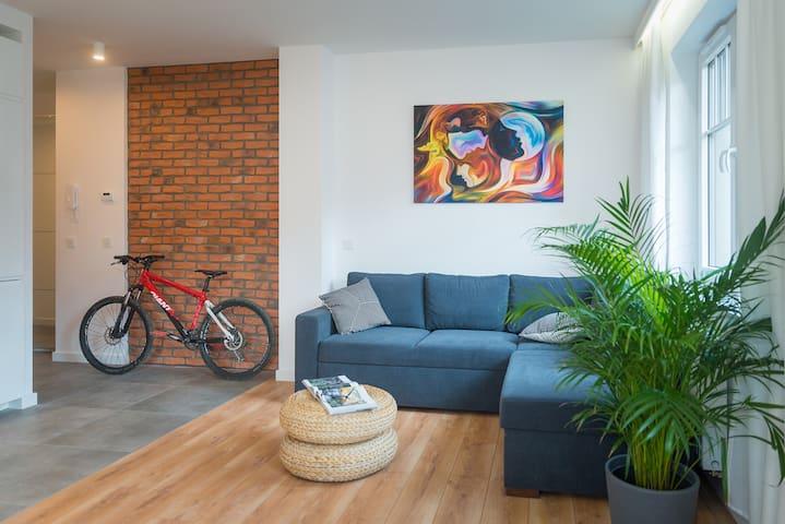 Apartament Kolorowy, Wille Polanica MyWeek
