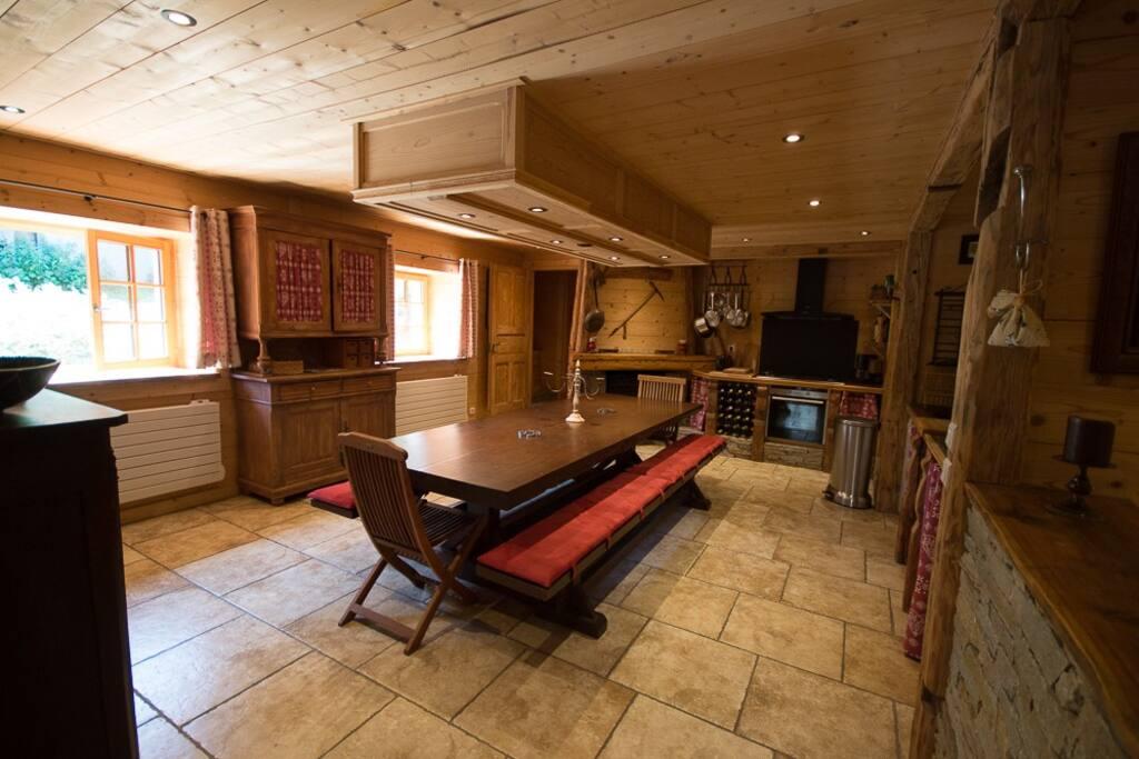 La pièce principale, coté cuisine