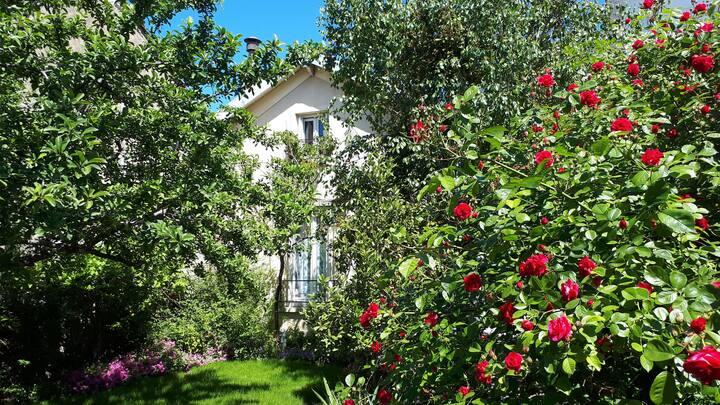 Maison calme proche de Paris
