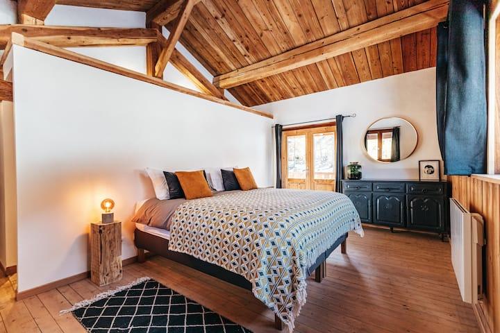 Le Petit Hibou-Bed & Breakfast-chambre Bellecote