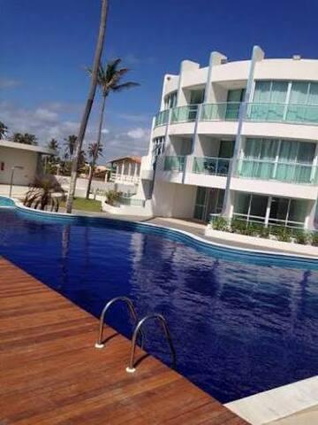 Apartamento à Beira-mar - Barra de São Miguel