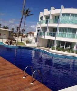 Apartamento à Beira-mar - Barra de São Miguel - Apartamento