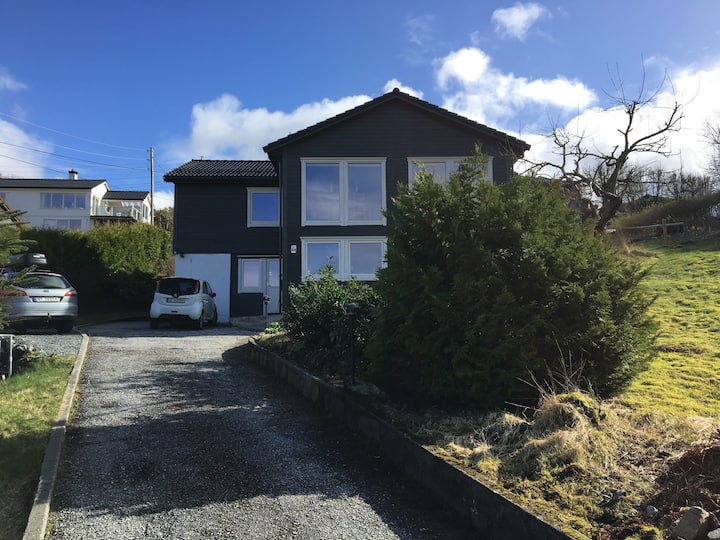 Spacious house 12km. south of Bergen city