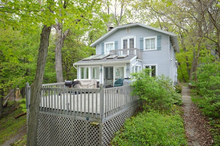 Maple Hill  is located just 100 yards from public Lake Michigan beach access at Grand Haven State Park!