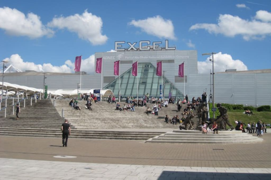 Apartment is literally at the door step of Excel Exhibition Centre