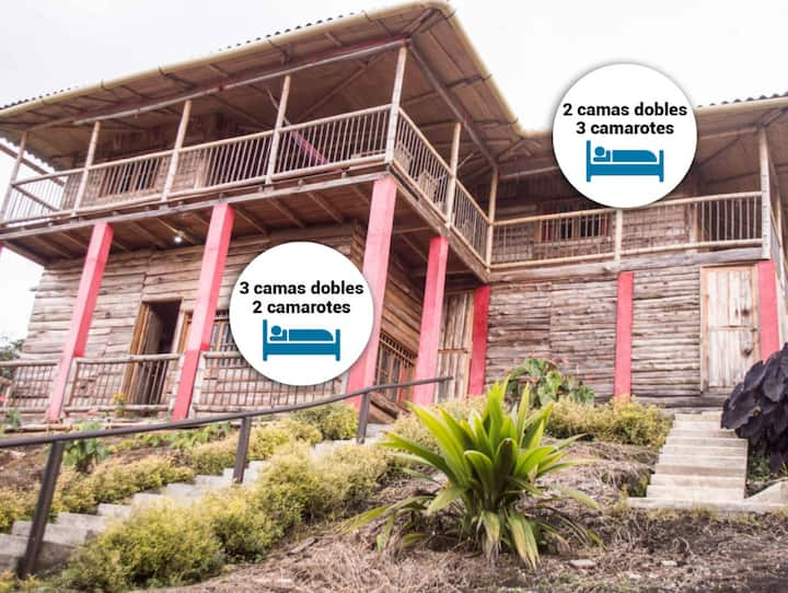 Casa del Mirador / Mirador del otún