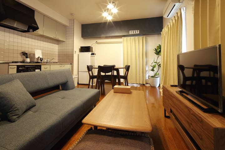 6 min walk - Shin Kobe Sta. / Japanese Modern Room
