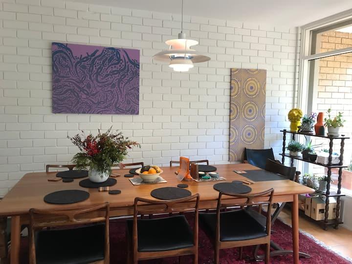 Modernist Cool in central Canberra