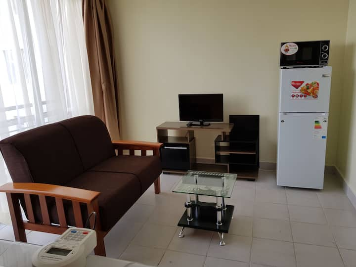 Large furnished closed studio near Junction Mall.
