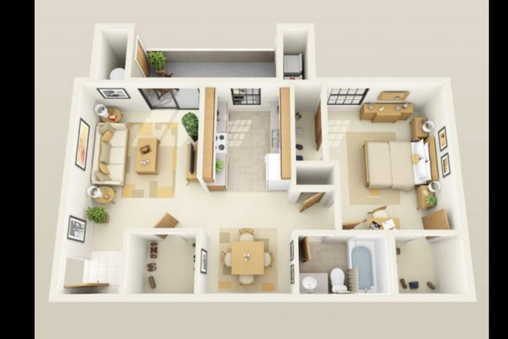 Specious 1 Bedroom Apart Close To The Strip 29 Apartments For Rent In Las Vegas Nevada