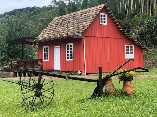Refúgio dos Anjos casas de campo_ Rio dos Cedros