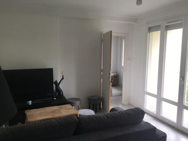 Appartement 40m² avec terrasse et vue sur la Saône