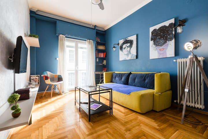 Elegant flat, 3min from Acropolis