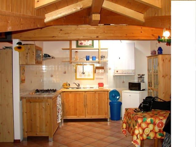 Romantico appartamento in montagna - Monclassico - Departamento