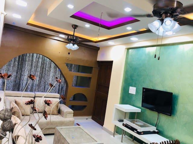 Lush Luxurious 2BR Apartment| Arpora | Goa Beaches