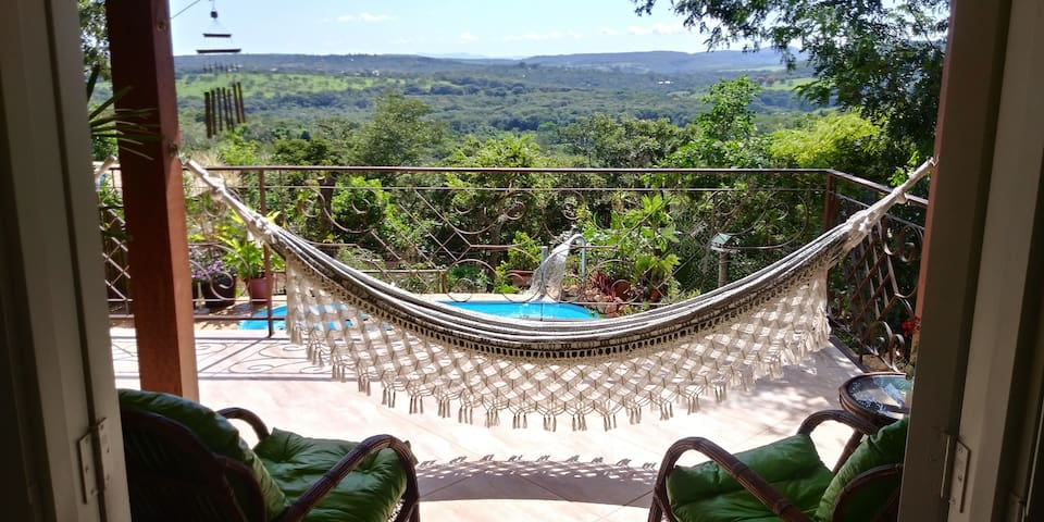 Lux Country House suite w/stunning view & pool