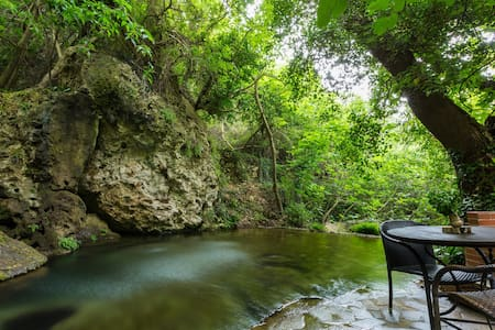 Hidden in a Forest with Lagoon Pool, villa Myloi - Myli - House