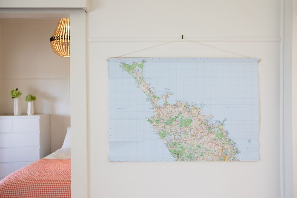Where shall we go today? Check out your daily route on our wall-hung map of Northland.