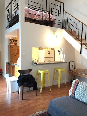 Spacious loft near Lake Merritt - Oakland - Loft