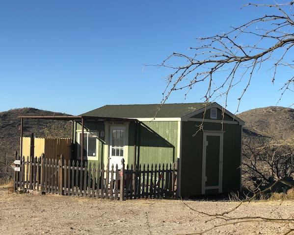 Hilltop Cabin at LuckyPup Horse Ranch, Mescal, AZ