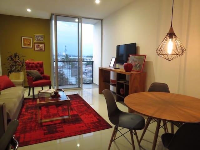 Apartamento en Formosa, A/C en Chapultepec Country