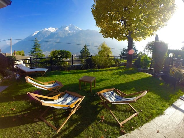 Chez Berry☺ double room - Aosta - Villa