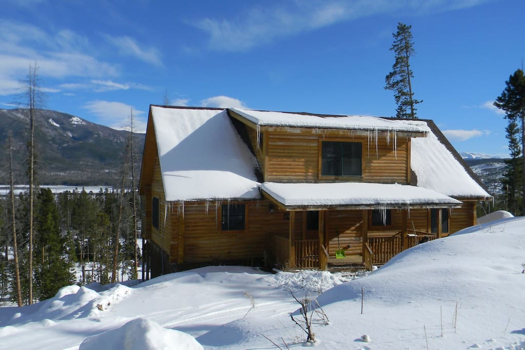Cabin W Grand Views Of Shadow Mtn Cabins For Rent In