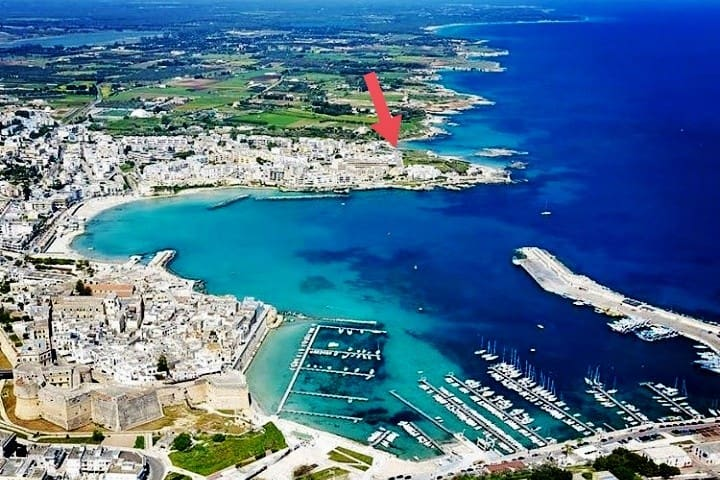 2 bed apt to relax by the sea in Otranto!