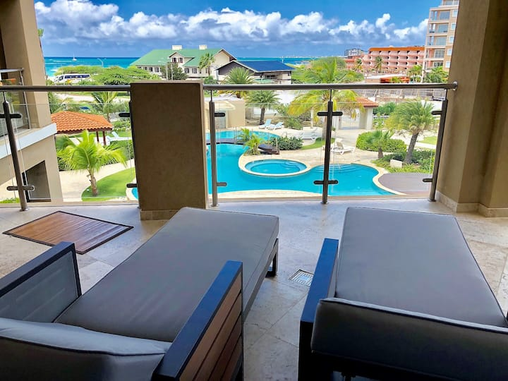 ENCHANTING OCEAN VIEW at EAGLE BEACH CONDO