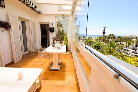 Penthouse in 1.line beach complex Puerto banús - Marbella