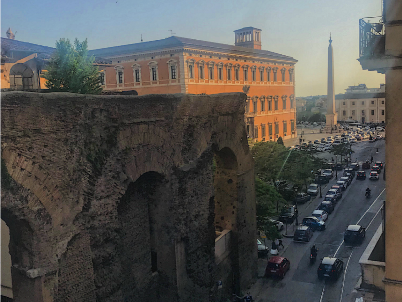 The view of San Giovanni from outside your window.