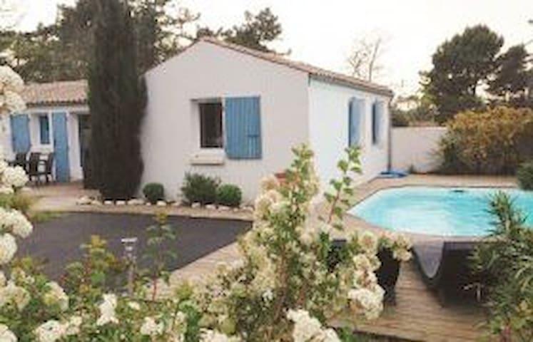 Villa Les Rivages - Oleron -6 pers, piscine privee - Le Grand-Village-Plage - Villa