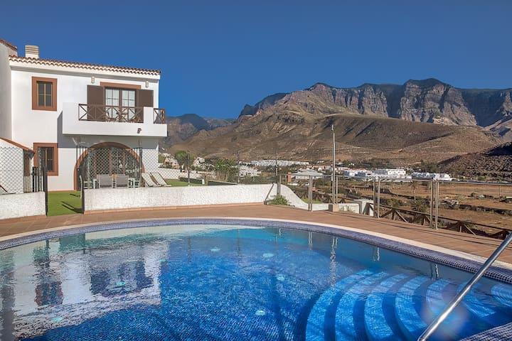 Villas Sicilia, vistas y tranquilidad en Agaete.