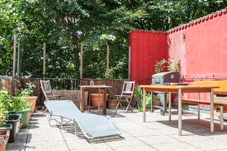 Private room for one or two with balcony - Vienne - Appartement
