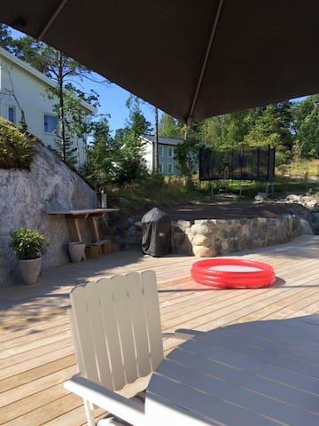 New house close the archipelago & Stockholm City - Boo - บ้าน