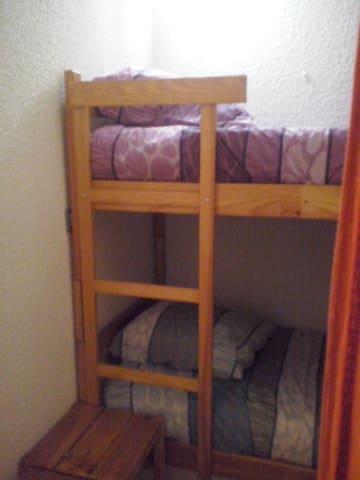 Coin couchette dans couloir