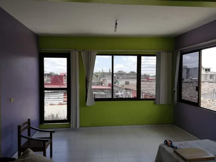 Apartamento centro Coatepec, Ver.