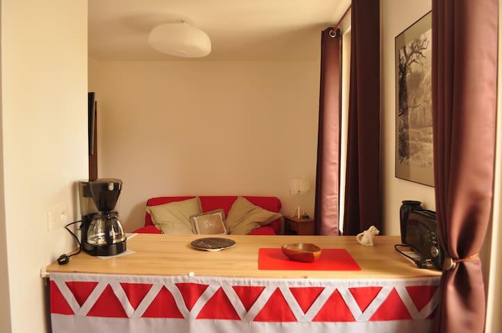 Studio pour curistes et amoureux de la nature - Lamalou-les-Bains - Apartment