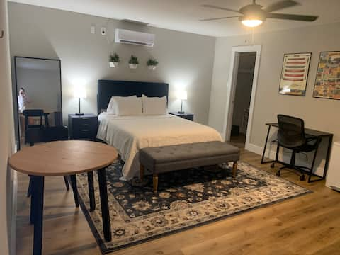 Modern 1 Bedroom Private Guesthouse, close to IAH!