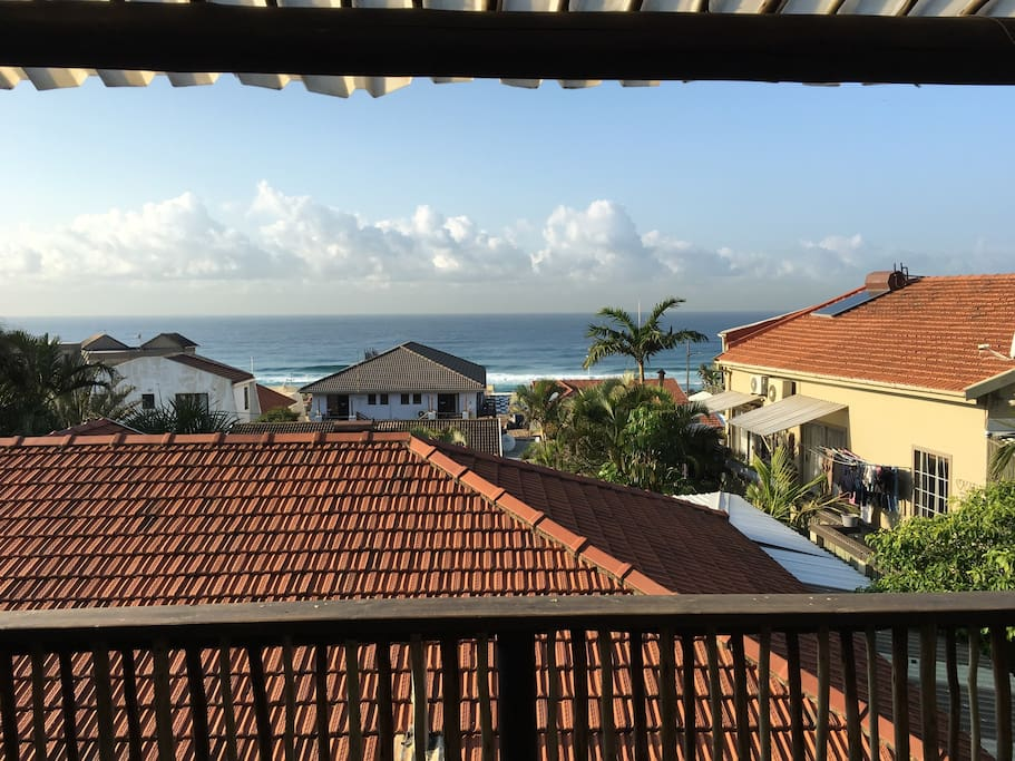 View from Ocean View apartment lounge and deck