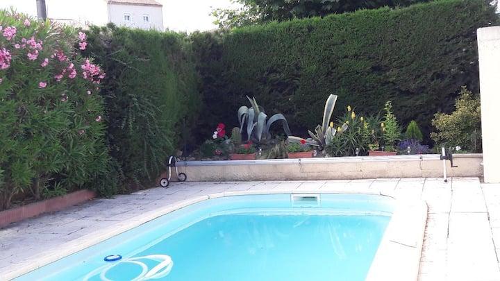 Villa Clovis avec piscine privée