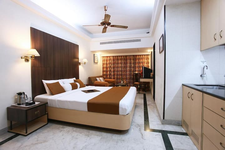 Exquisite Studio Apartment in Juhu, Mumbai - Mumbaj - Apartament