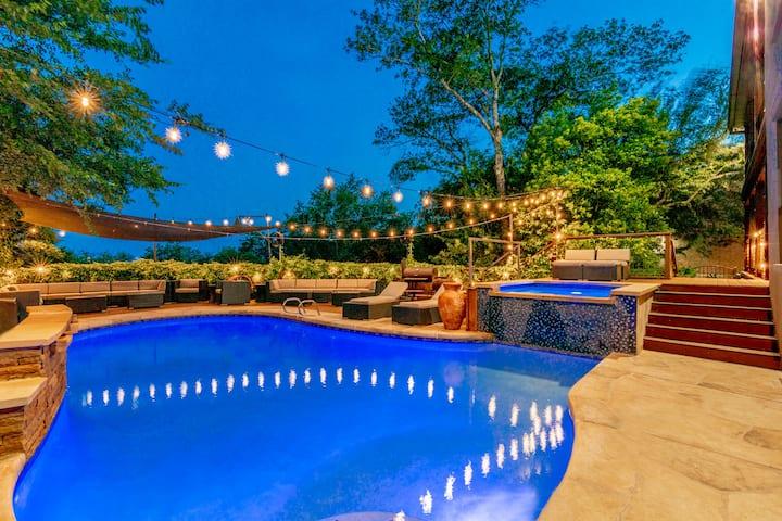 ★Dtown Luxury★Heated Pool&Spa★Professional Clean★