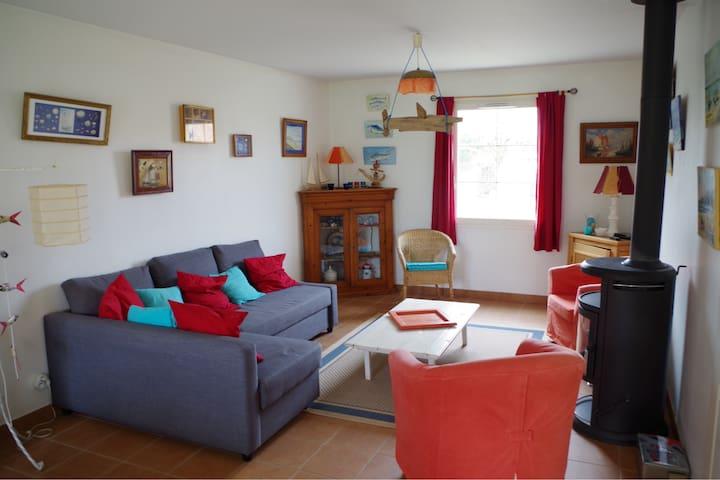 Maison sur Wissant pour 4 à 6 personnes - Wissant - Hus