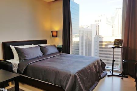 GK's #4 Luxury Room. Nice View 5sec Gangnam Stn.#1 - Gangnam-gu - Daire