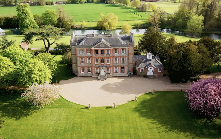 Ardington House, large manor house in the country