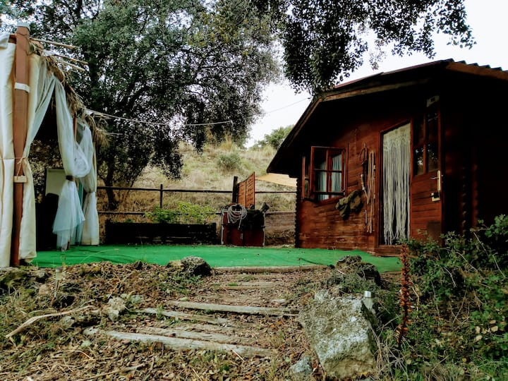 "CABAÑA "" Rancho Aguadulce"""
